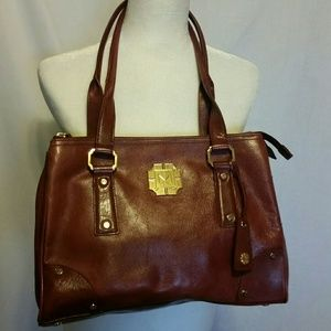 Monet Brown Leather Bag